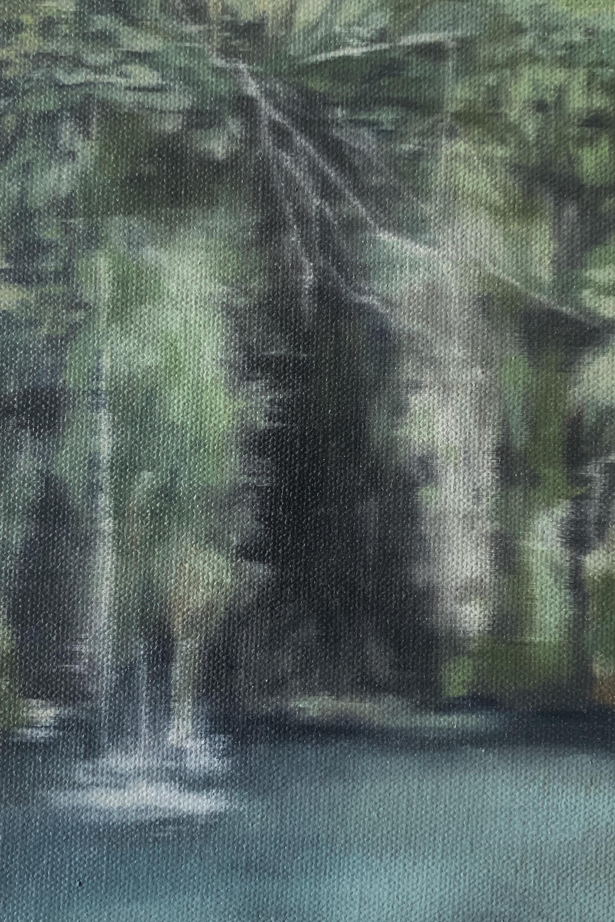 AMELIA CARROLL  image.94 , 2019 oil on canvas 18 x 12.5 cm
