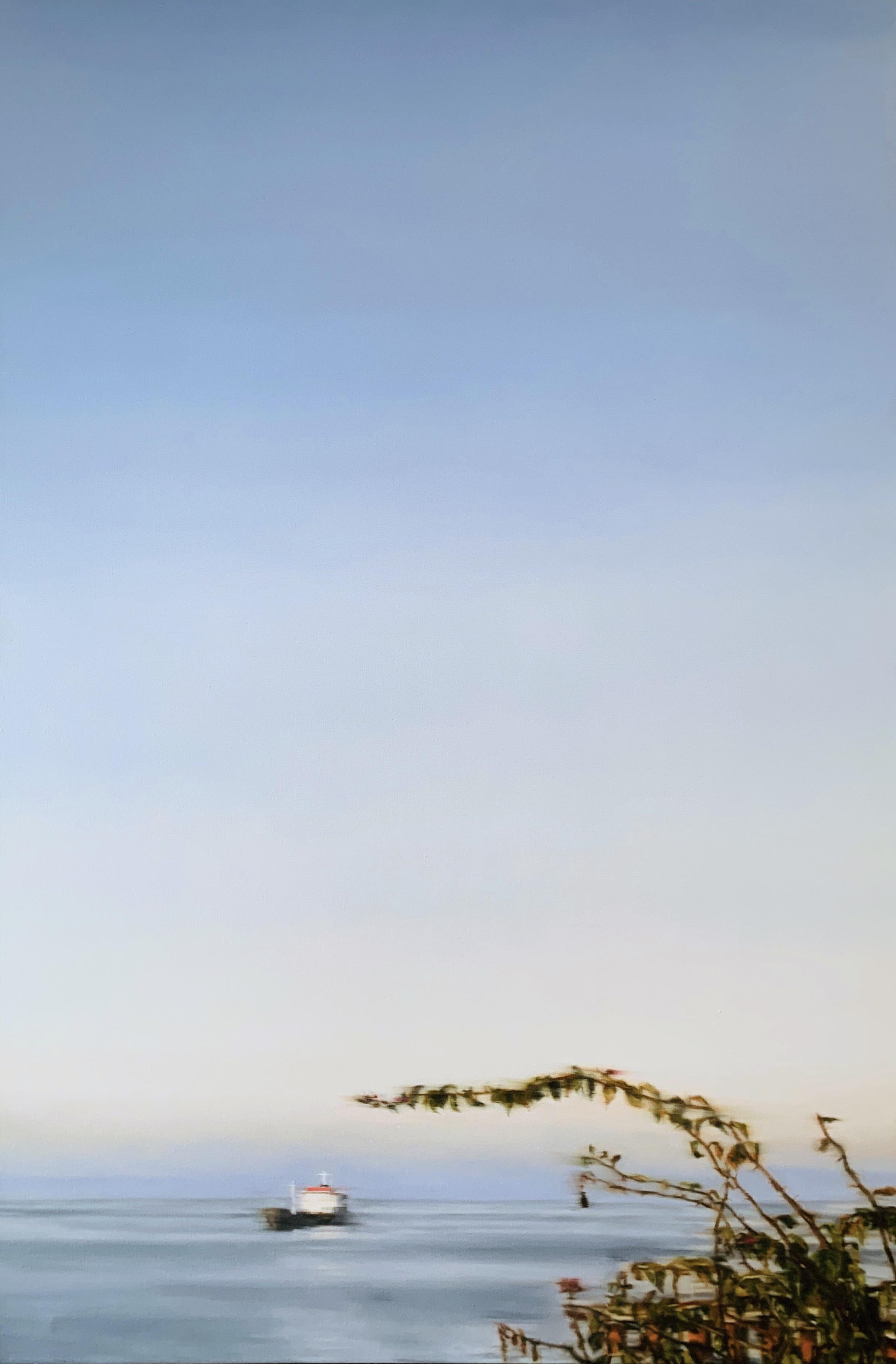 AMELIA CARROLL  ocean-1 , 2019 oil on canvas 151 x 101 cm