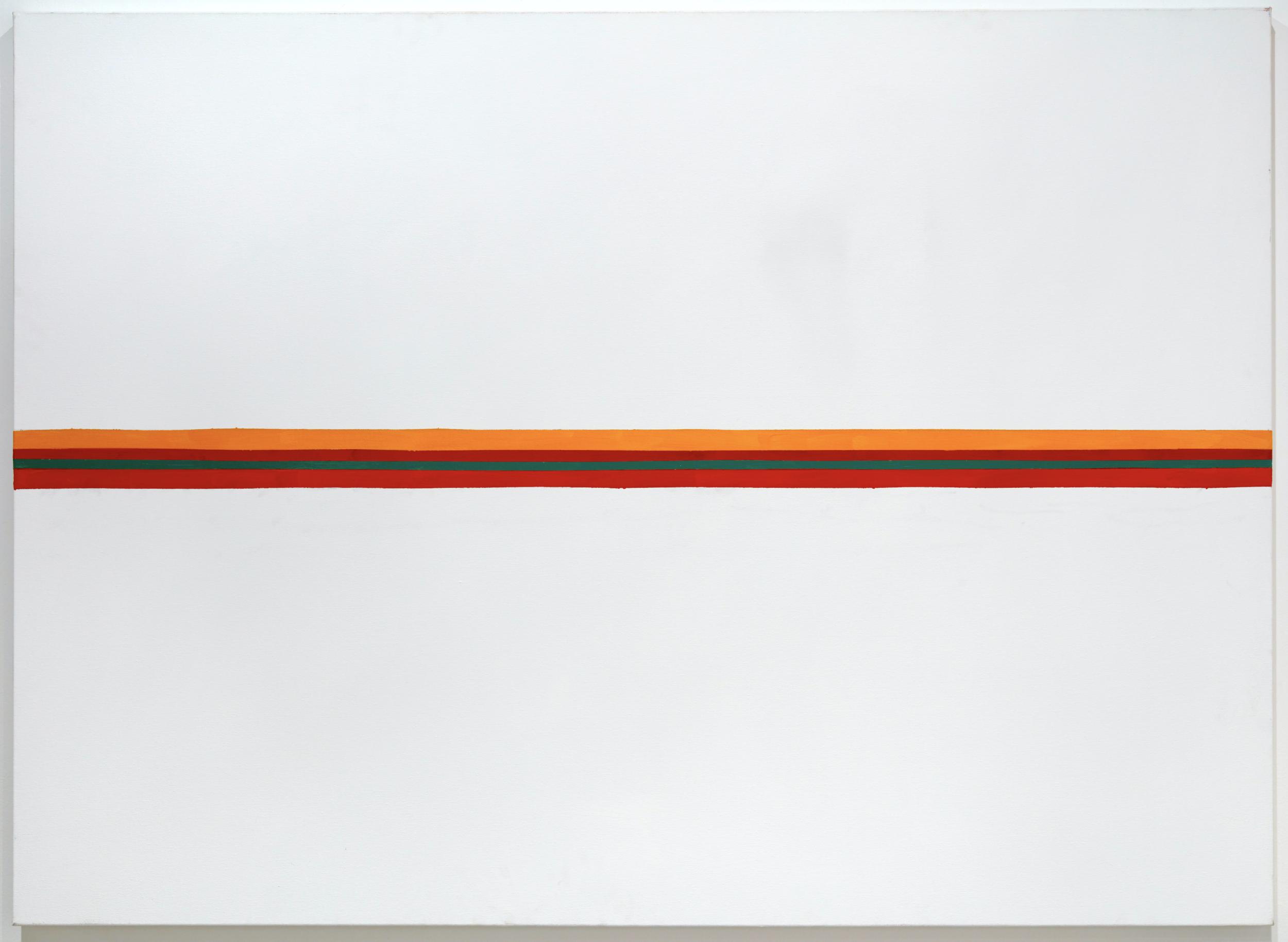 DICK WATKINS  Horizon , 2010 acrylic on canvas 122 x 152 cm