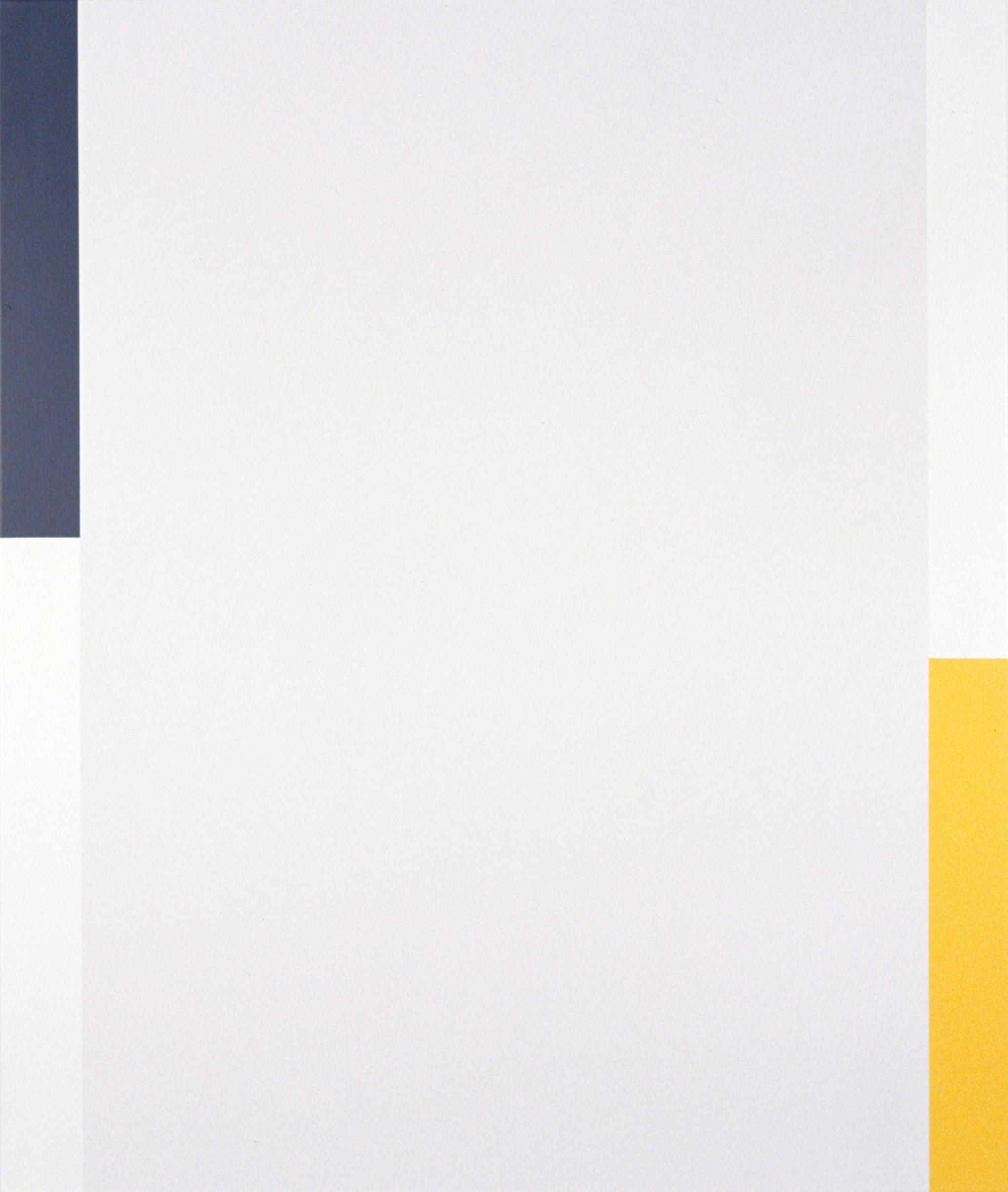 VIRGINIA COVENTRY  Step , 2007 acrylic, vinyl, metallic pigments on linen 180 x 150 cm