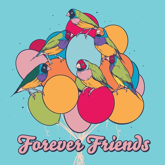 They're not fickle, they're not fast, they're faithful and forthright, they're not freeloaders, fakes or fuck overs, they'll fight for you, fill you up and free your heart.. They're forever friends .. forever and ever.  This one's for mine.  And yours.  Feat. Gouldian Finches