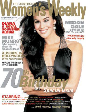Women's Weekly Megan Gale