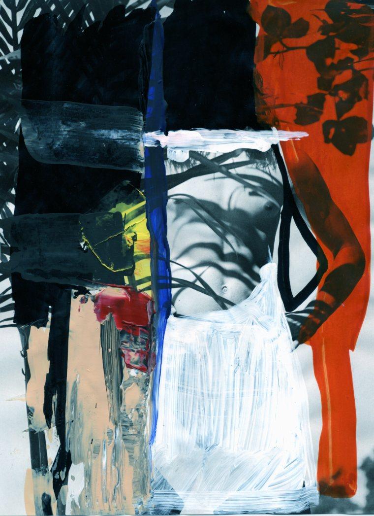 Michiel Keuper - Censor Sensual series, 2016, ink and acrylic on magazine - PanDream Series -  72 -042.jpg