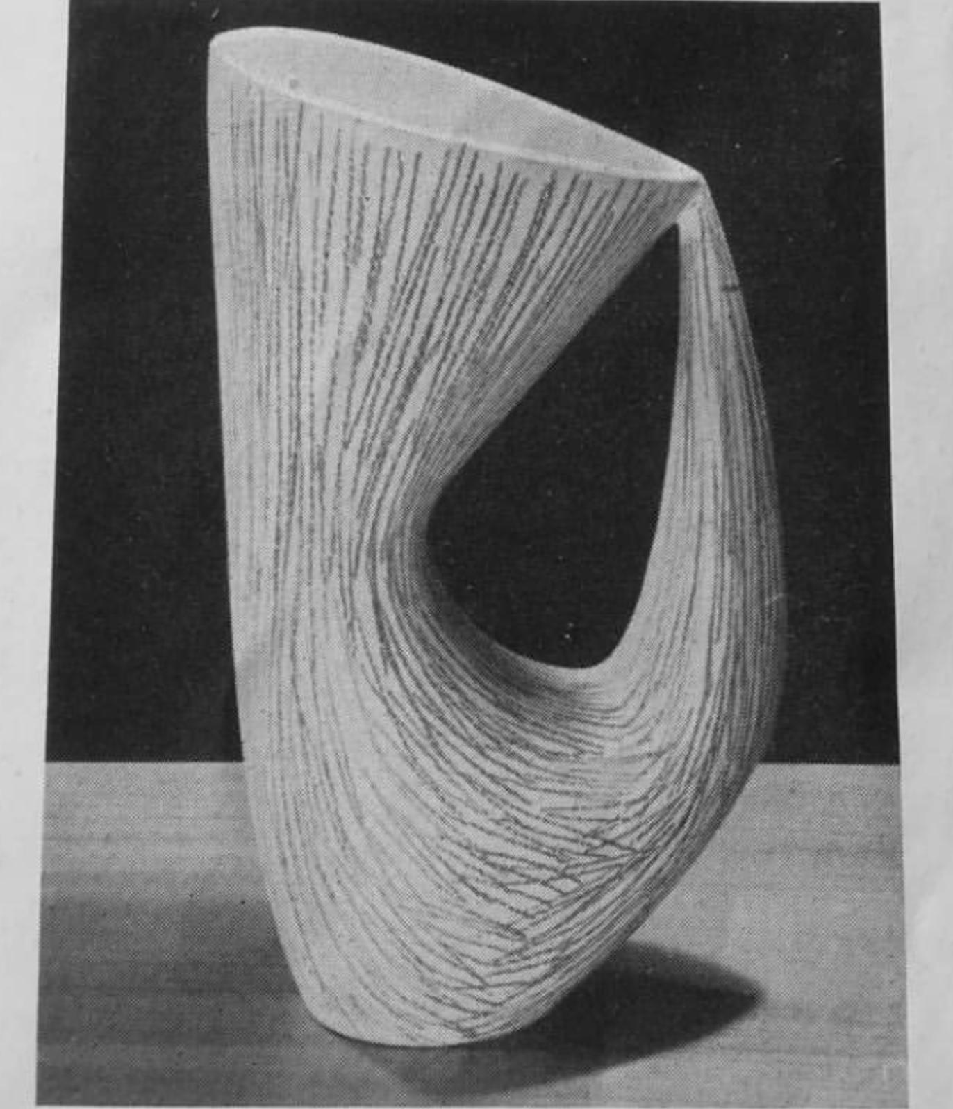 André Aleth Masson, Cat Vase Sketch.