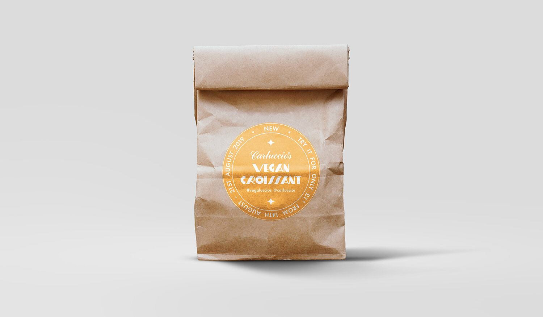 Vegan Croissant Launch:  Packaging