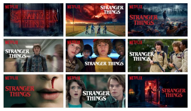 Netflix Artwork Personalisation for Stranger Things