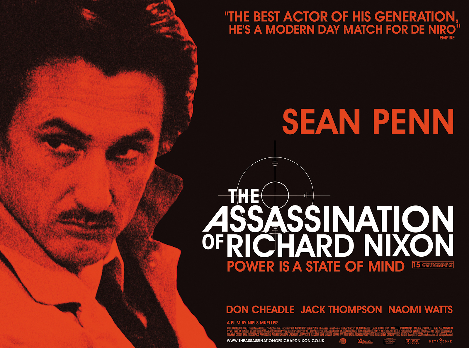 The Assassination of Richard Nixon | Movie Poster | By James-Lee Duffy