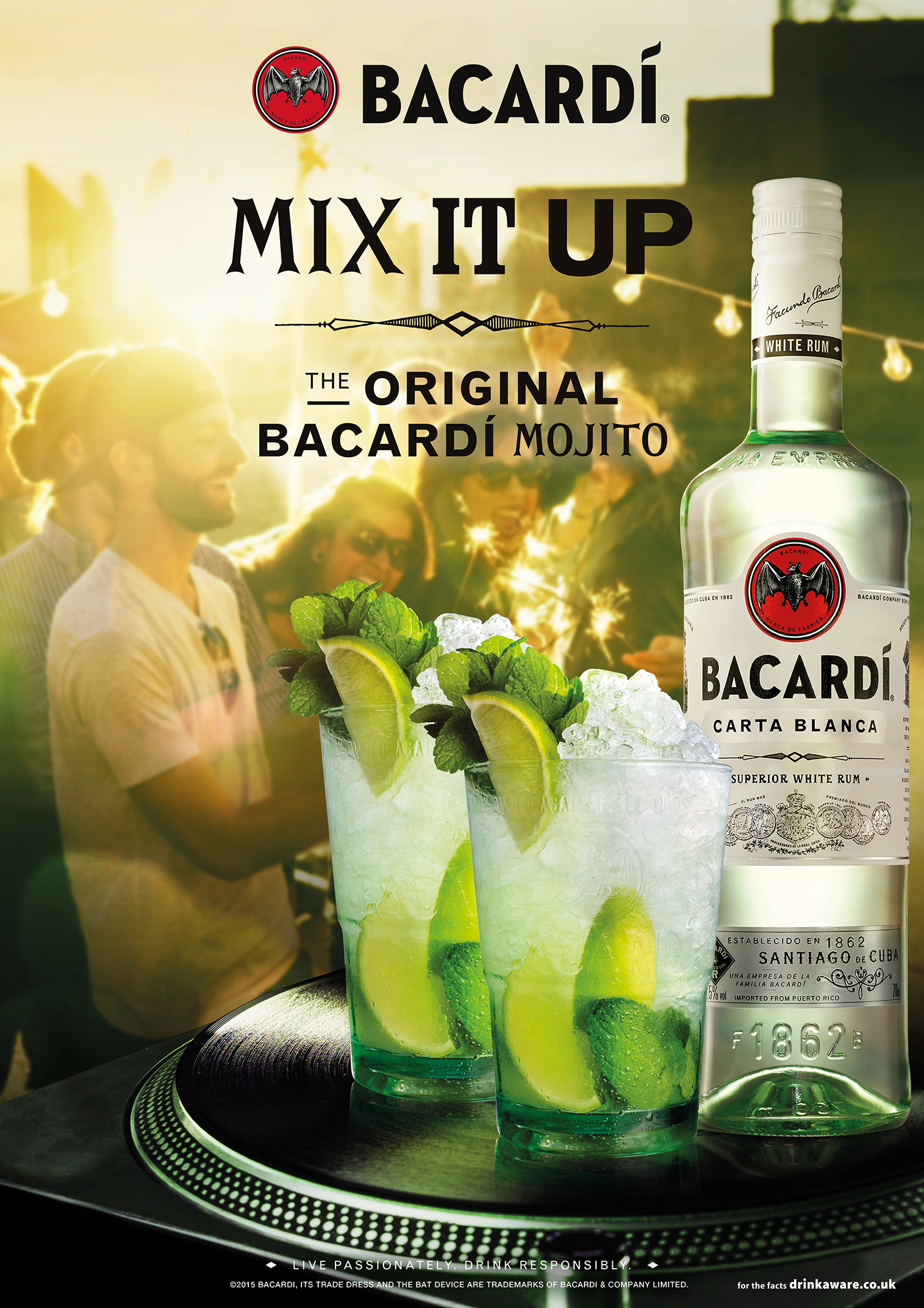 Bacardí On Trade | Art Direction | By James-Lee duffy