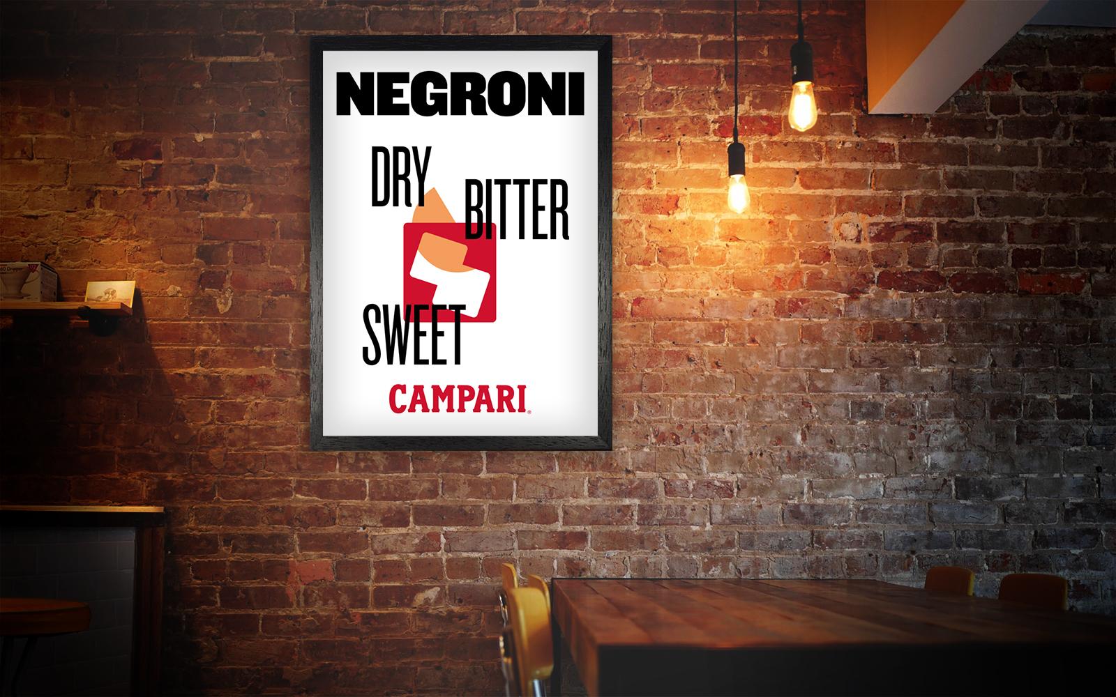 Campari Negroni Lightbox   By James-Lee Duffy