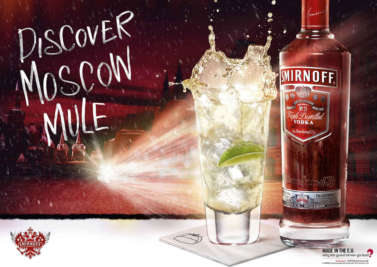 Smirnoff | Art Direction | By James-Lee Duffy