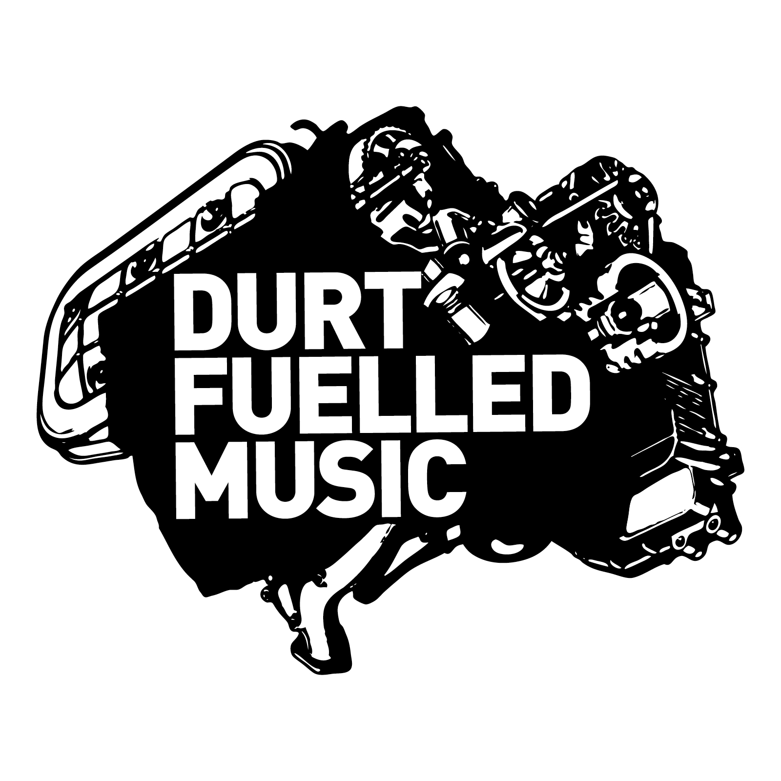Durt Fuelled Music   Branding   By James-Lee Duffy
