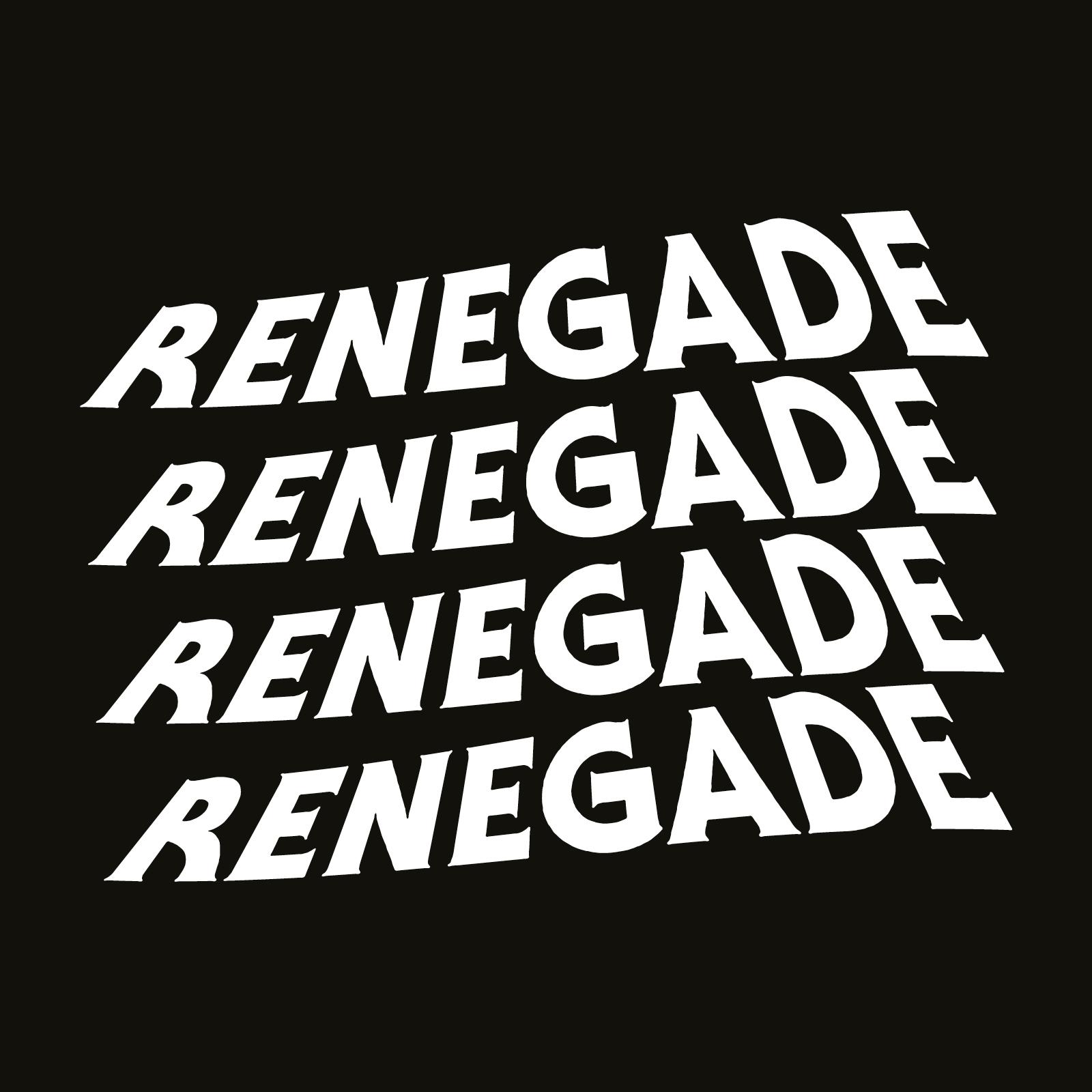 Renegade   Branding   By James-Lee Duffy
