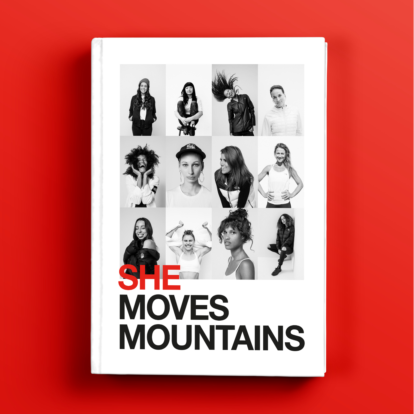 The North Face - She Moves Mountains   Art Direction   Design   By James-Lee Duffy