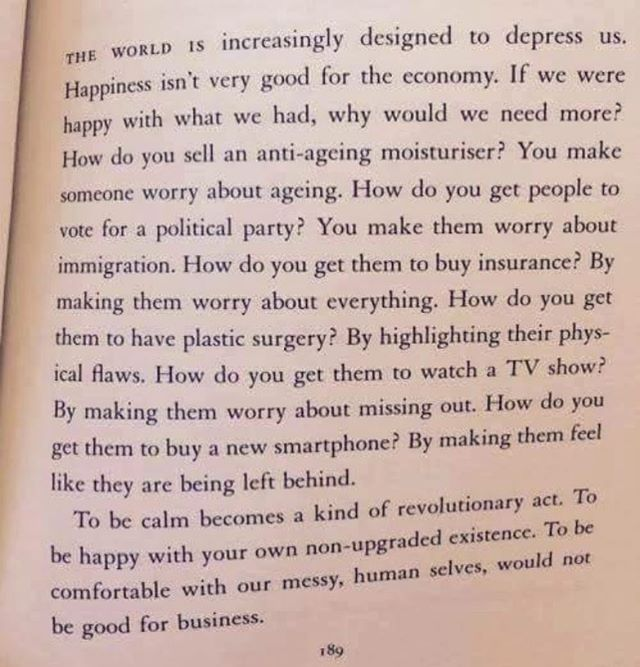 Sunday wisdom . . . #tingmithjertesiger #fucknormal #beyourself #lovelife #society