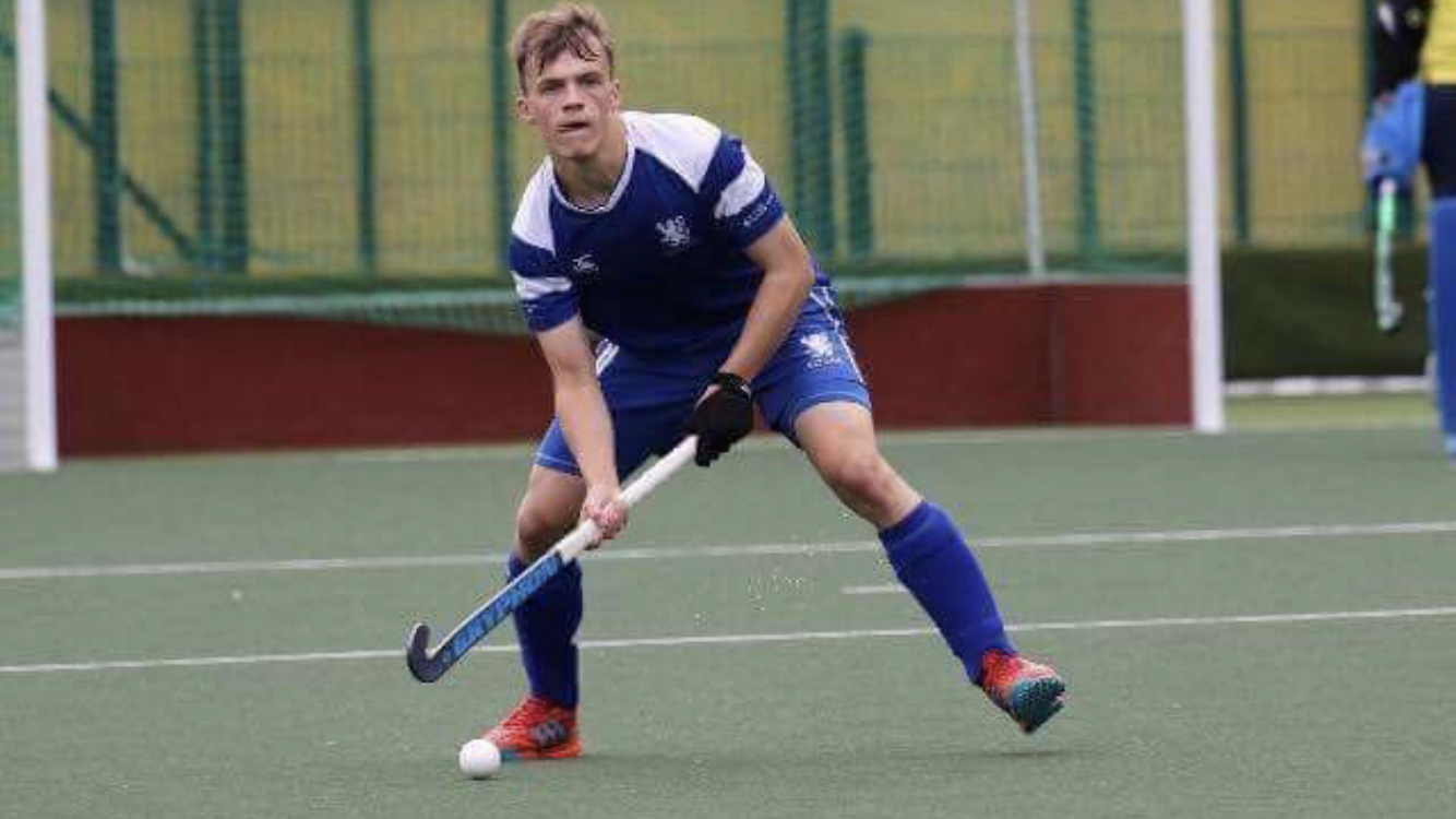 Aidan Mcquade   Aidan has represented Scotland at all levels and is in the GB Elite Development Squad, playing in two u18 and one u21 European Championships. Aidan made his senior International debut at the age of 18 in January 2018 winning 3 caps in a 5 nation's tournament.  Aidan plays his domestic hockey for Grove Menzieshill, and will feature in the EHL in 2019.  Aidan is talented full back, who is calm under pressure. His specialist skills are passing and drag flicking.