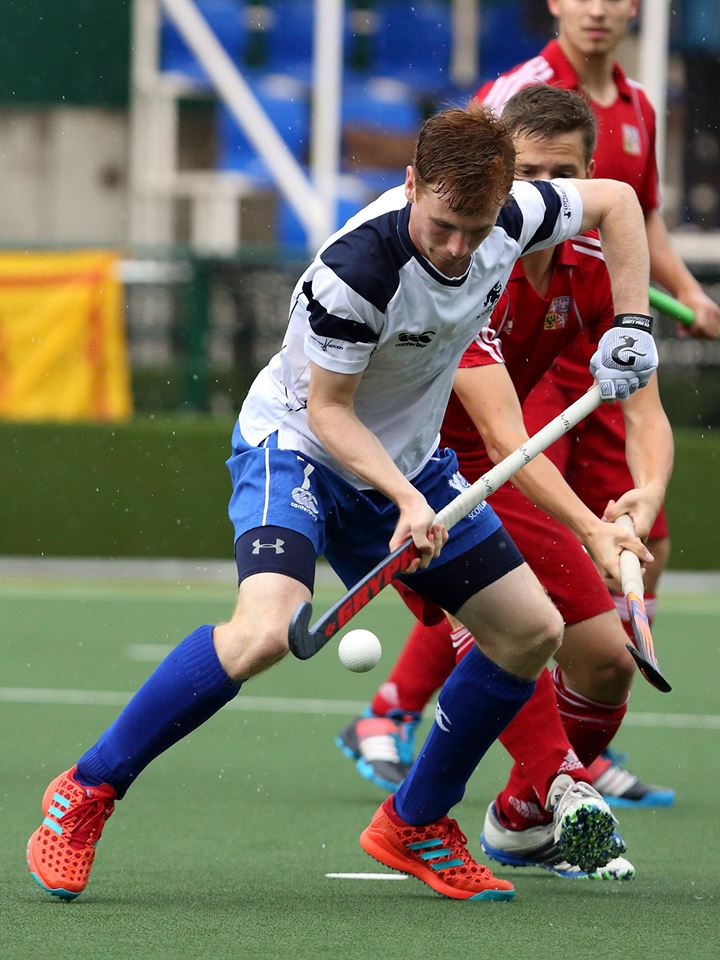 Joe McConnell   Joe is a current Senior International, having represented Scotland at all levels and captaining Scotland at u18 and u21 level.    Joe plays half back, and has great 1v1 defensive skills, he has a fantastic range of passing, and is composed on the ball under pressure.