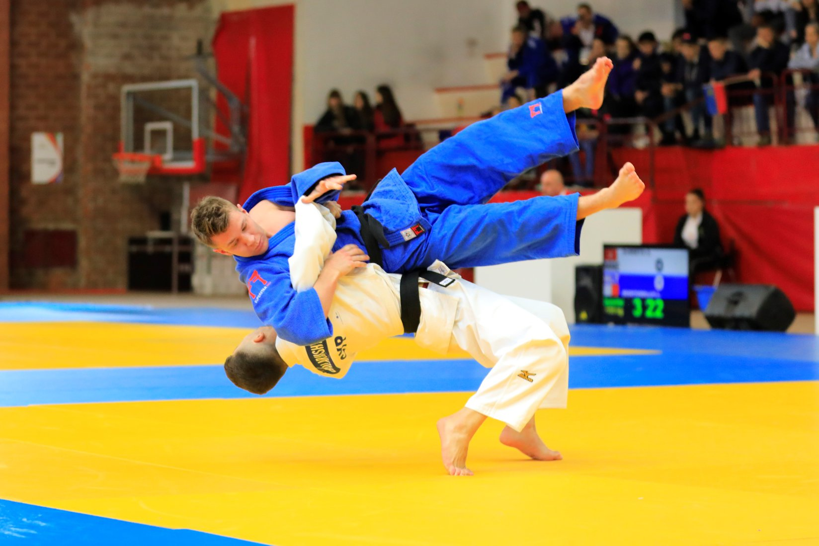 Giorgios Balajiasvili in action - Photo: Cyprus Olympic Committee