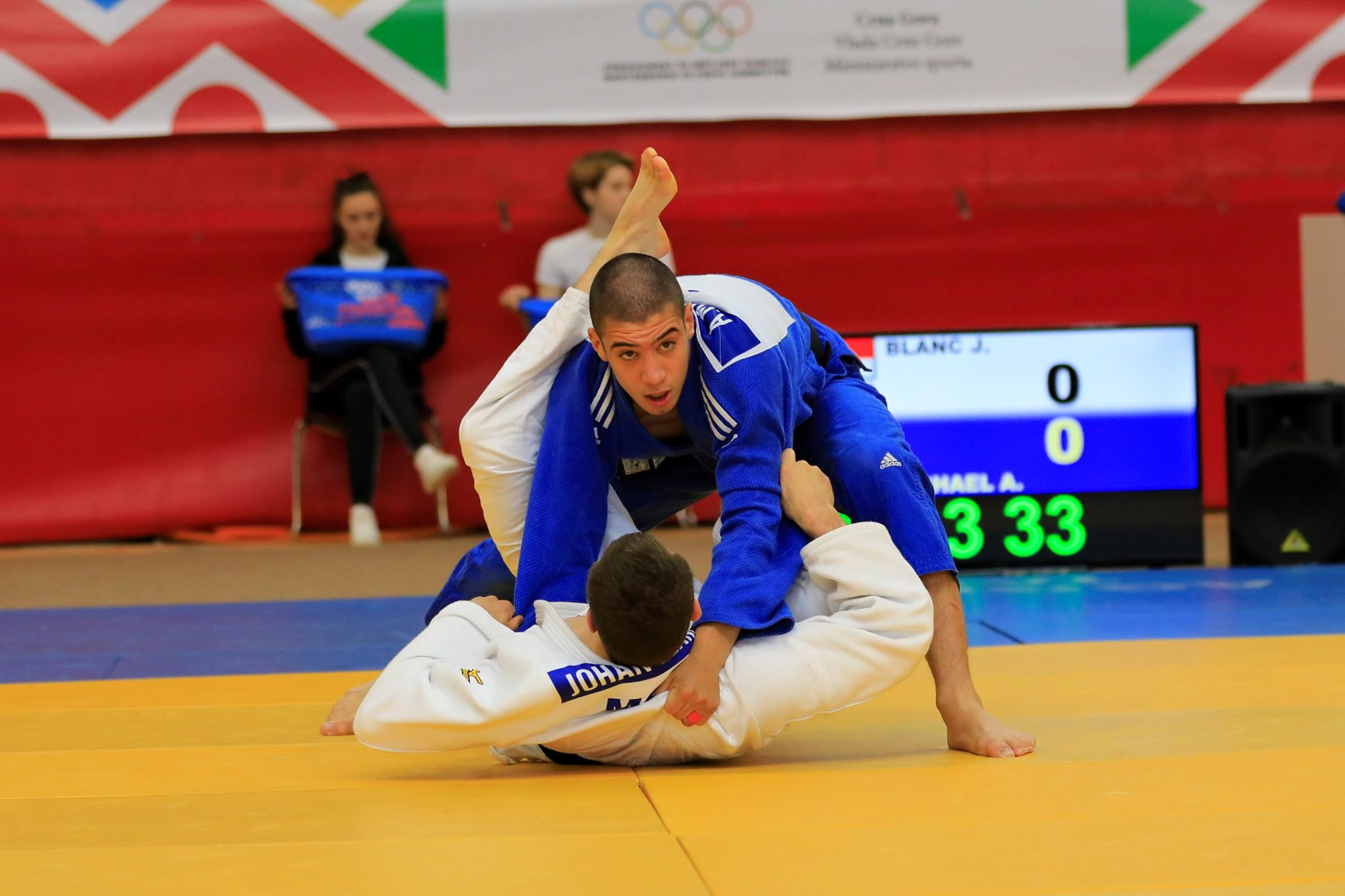 Aristos Michael in action - Photo: Cyprus Olympic Committee