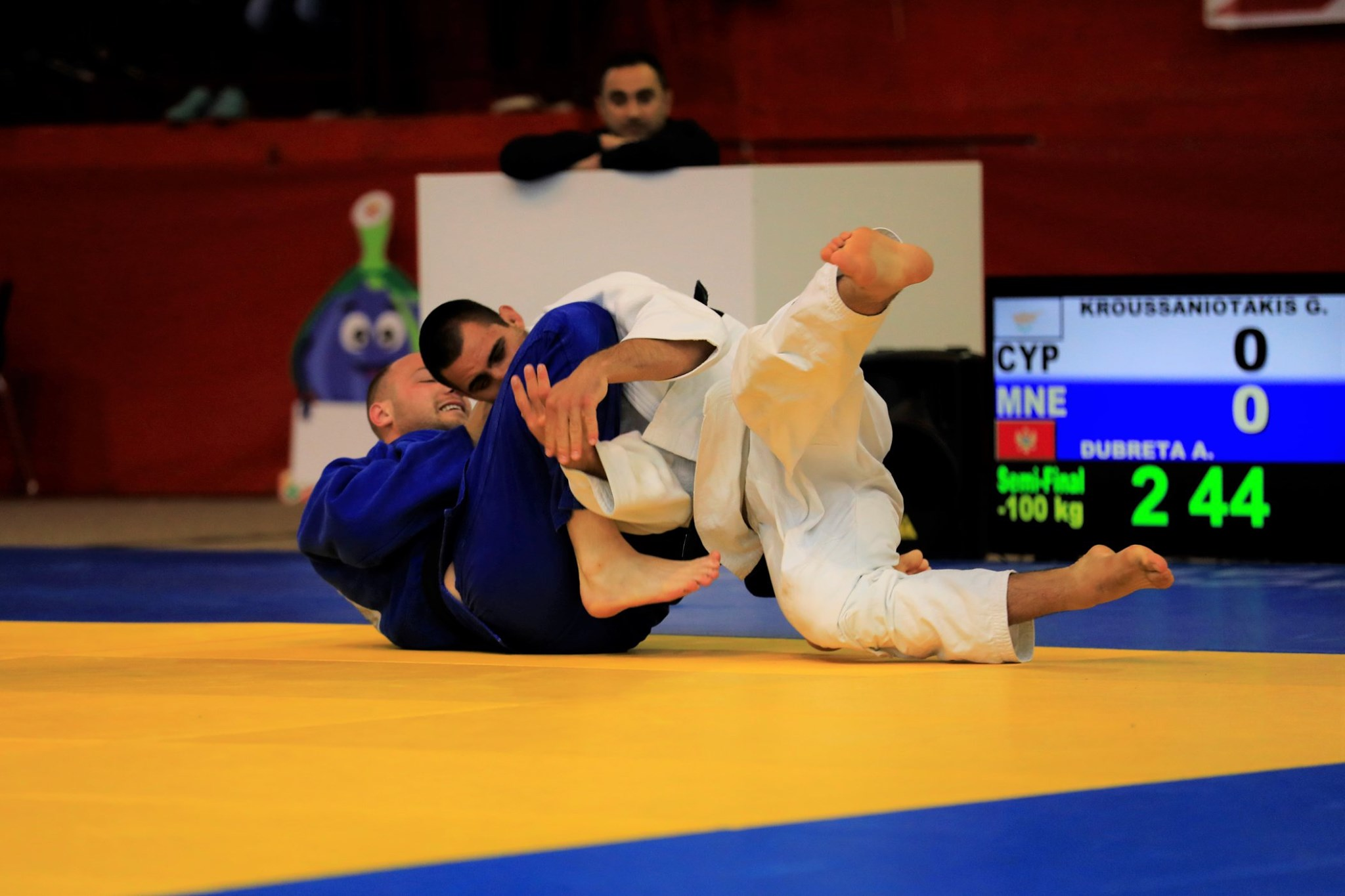 Giorgos Kroussaniotakis in action - Photo: Cyprus Olympic Committee