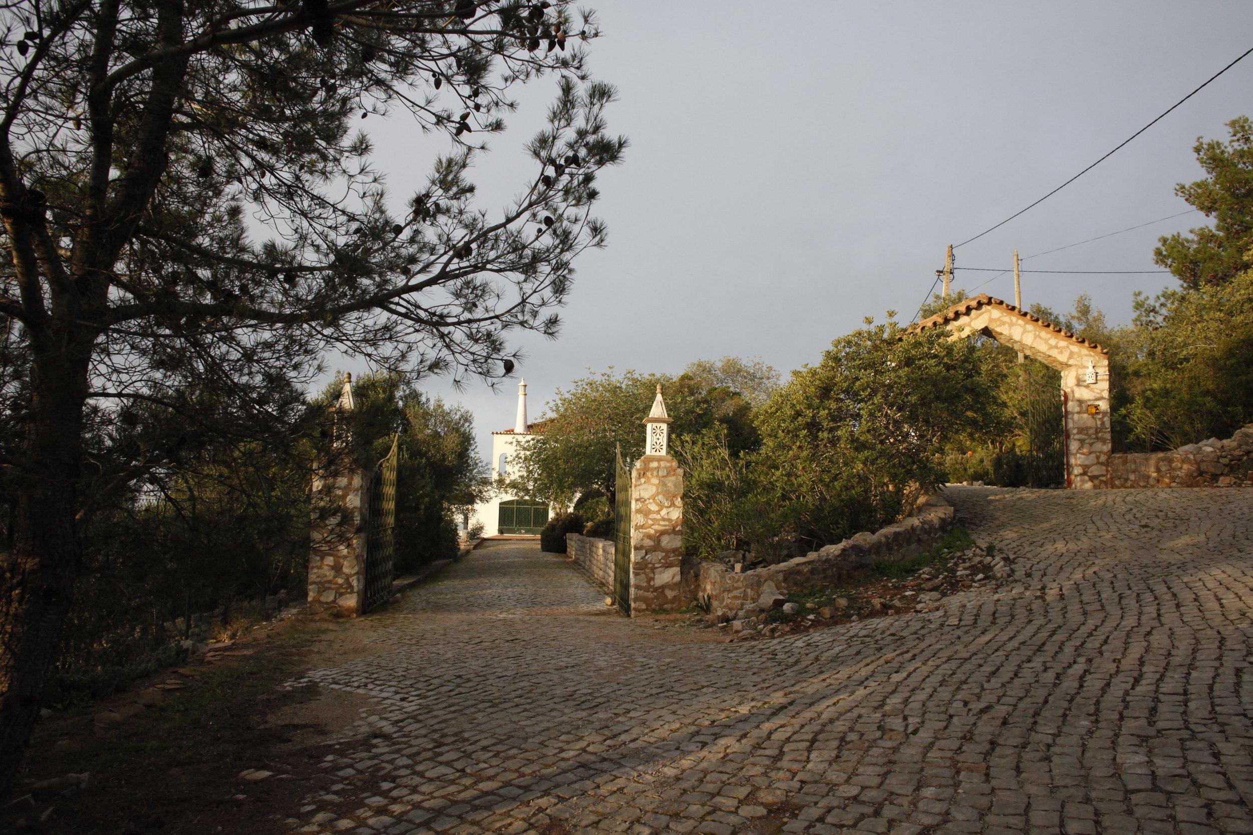 Double entrance to Casa Danielle