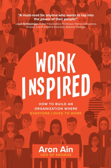"""""""Aron Ain's WorkInspired is a valuable resource for any leader looking to build an organization rooted in employee engagement and a shared value system.""""  ―Stephen A. Schwarzman, Chairman, CEO, and Co-Founder, Blackstone"""