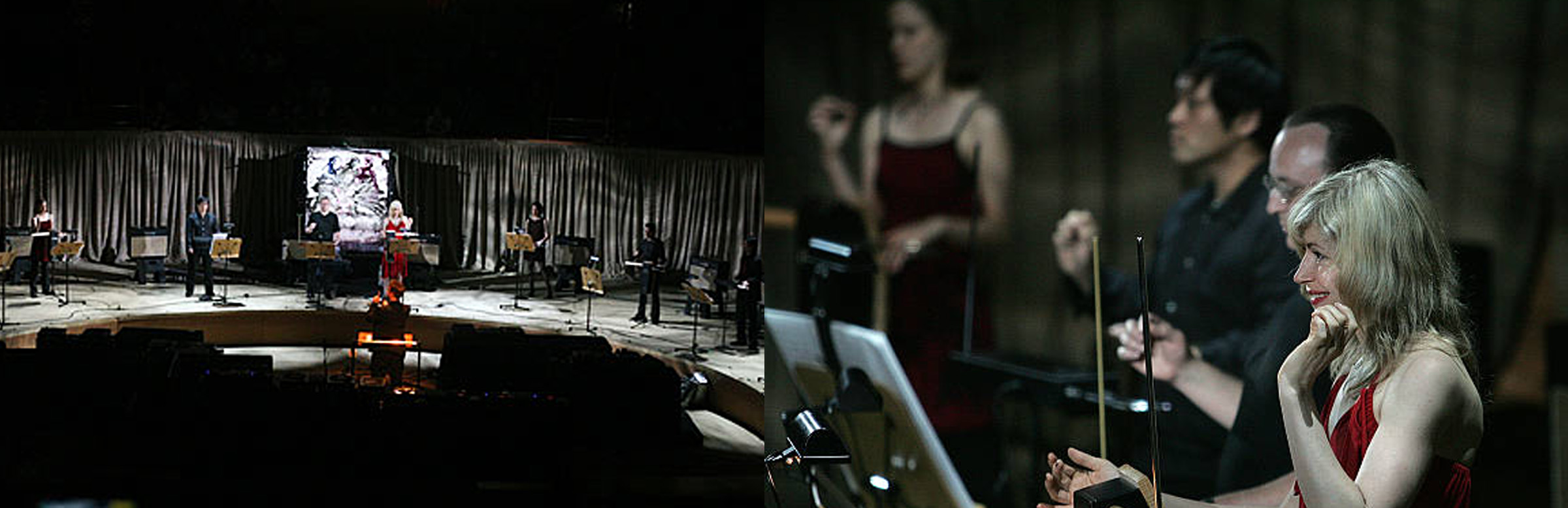 Produced by The NY Theremin Society under the leadership of Dorit Chrysler, the concert took place on May 26th, 2007 at the LA Disney Hall, featuring ten Thereminists: Roger Ballenger, Dorit Chrysler, Carolina Eyck, Kevin Lee, Kento Oiwa, Armen Ra, Rob Schwimmer, Dalit Warshaw, Lara Wickes and Robby Virus. The Theremin Orchestra was conducted by Ben Wickes and Steven Martin. Not since 1930 at Carnegie Hall had a Ten Piece Theremin Orchestra taken the stage.