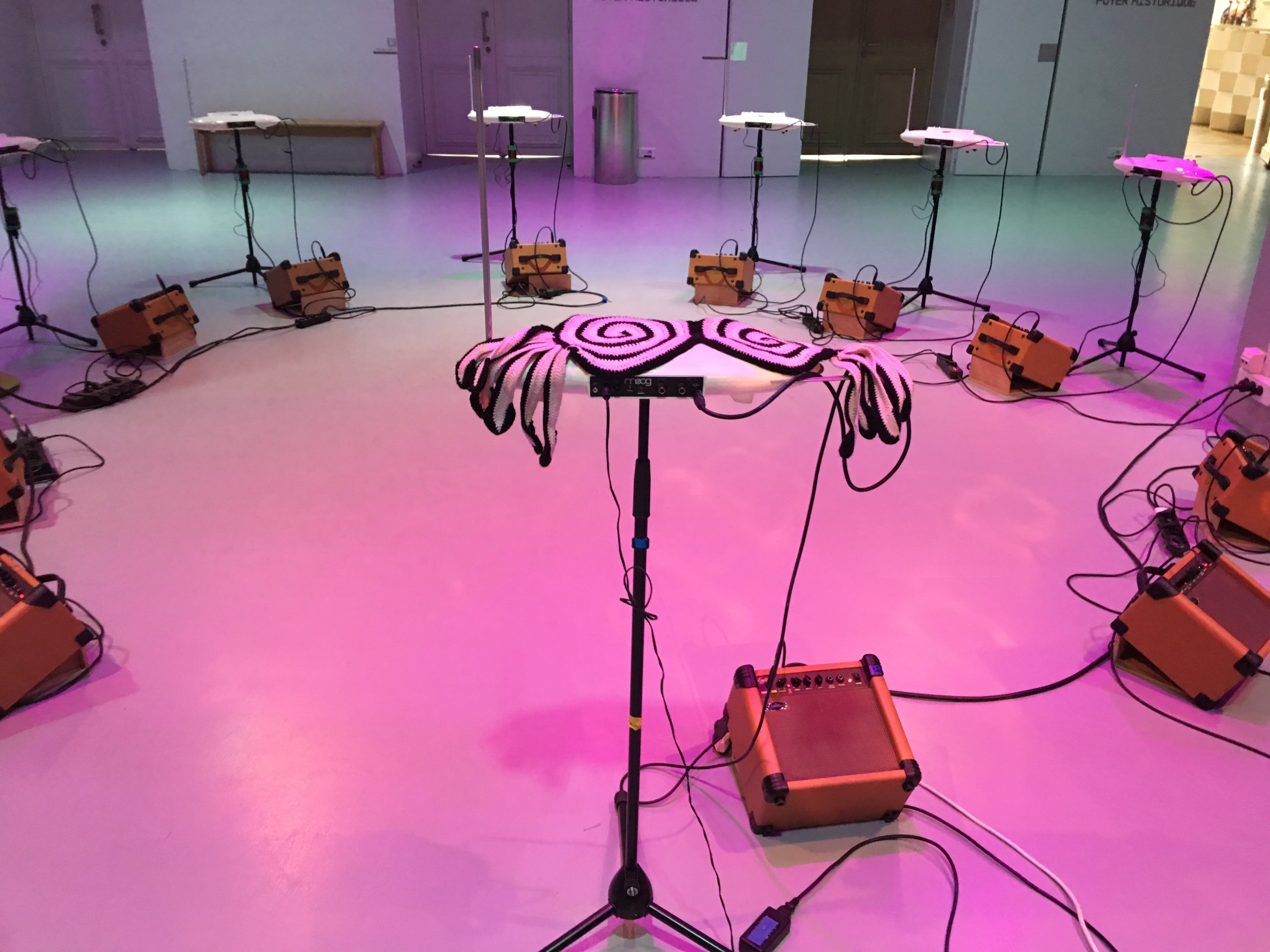 Photo: L'Ecole Theremin at the Gaite Lyrique in Paris