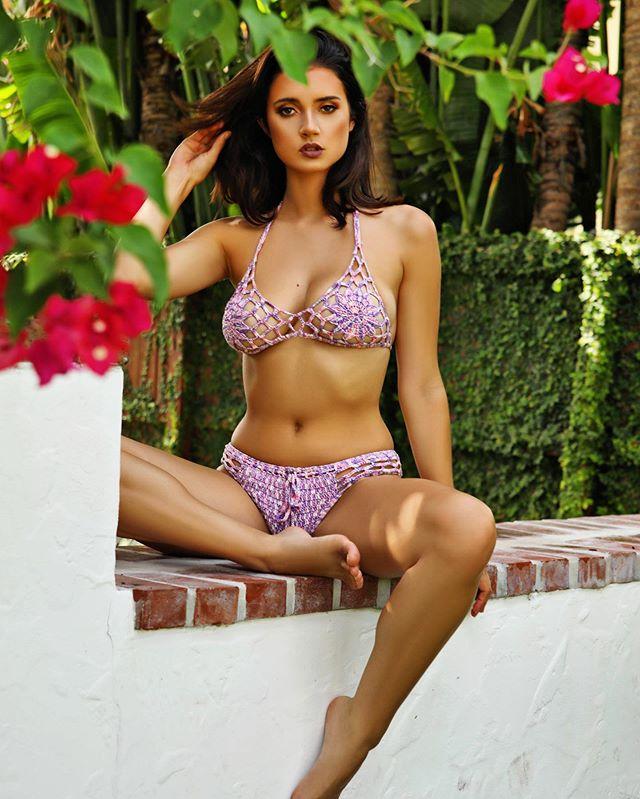 Lotus Bikini 🌸 - A unique handmade crochet bikini created from a trio of cotton threads designed to make you blossom. #beauty #flower #bikini #swimwear #love #shop #now #crochet #swimwear #island #life #women #instagood #instadaily #oncekissed #limited #edition