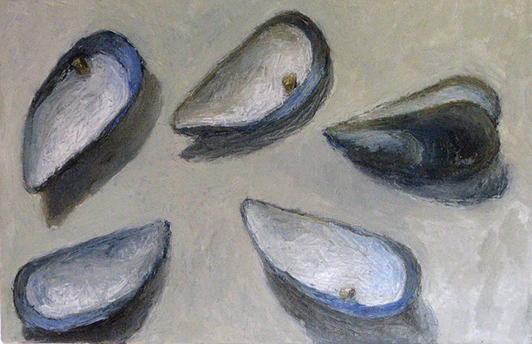 Mussel Shells One