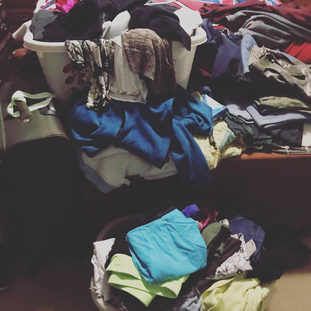 """The laundry basket """"pile method"""""""