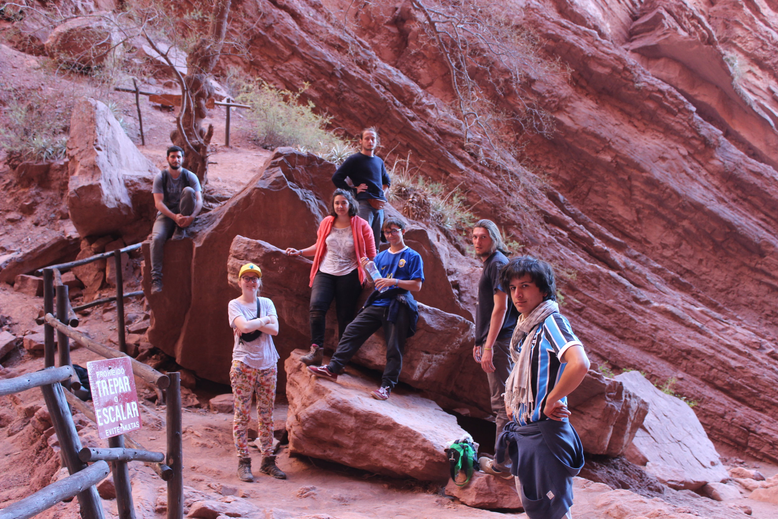 Les aventuriers du dimanches dans les canyons