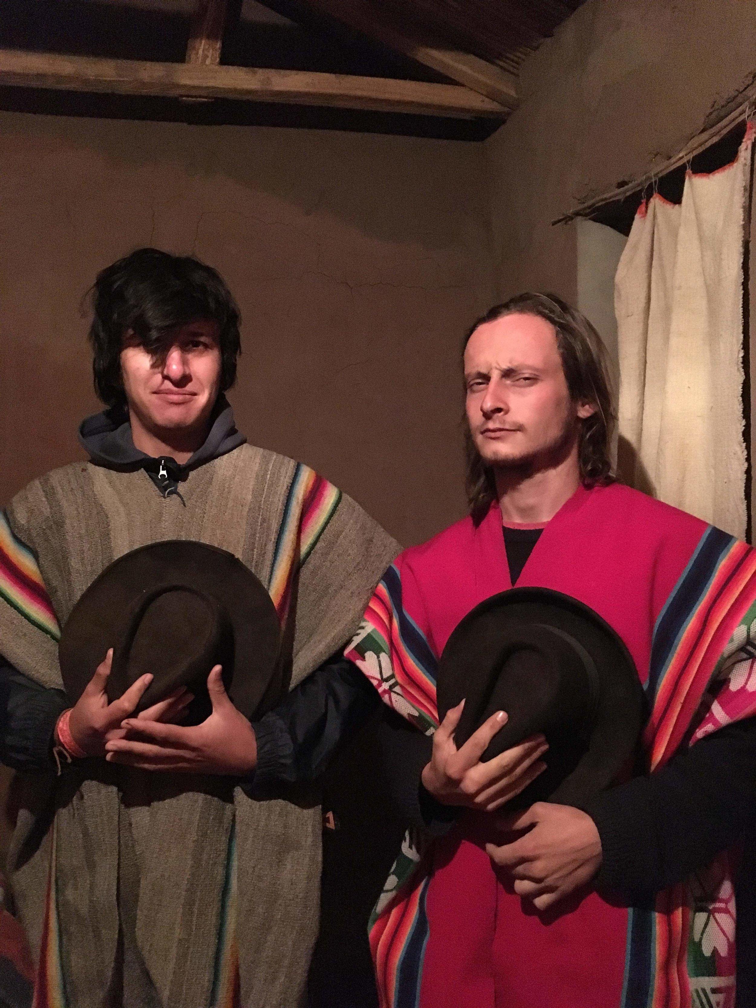 Don Rohan et El Patito, nos cavaliers du jour