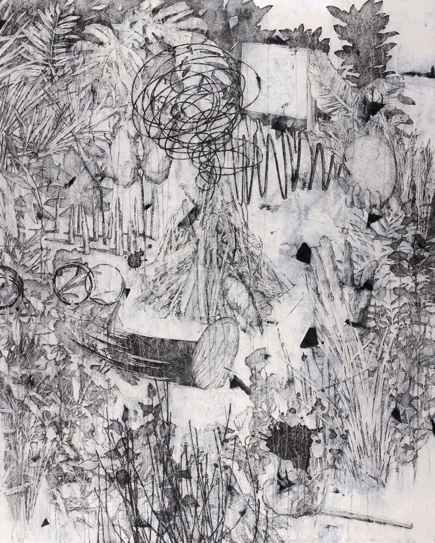 작당(作黨)    Fresco technique, 182x145cm, 2018