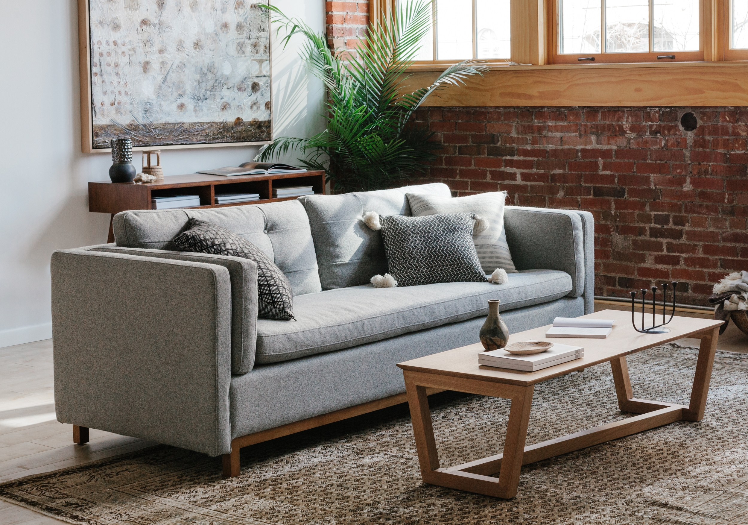 It's easier to buy furniture when you can see it in a home.  - At Guest House, we create pop-up stores inside beautiful homes with furniture, art and goods from local makers.