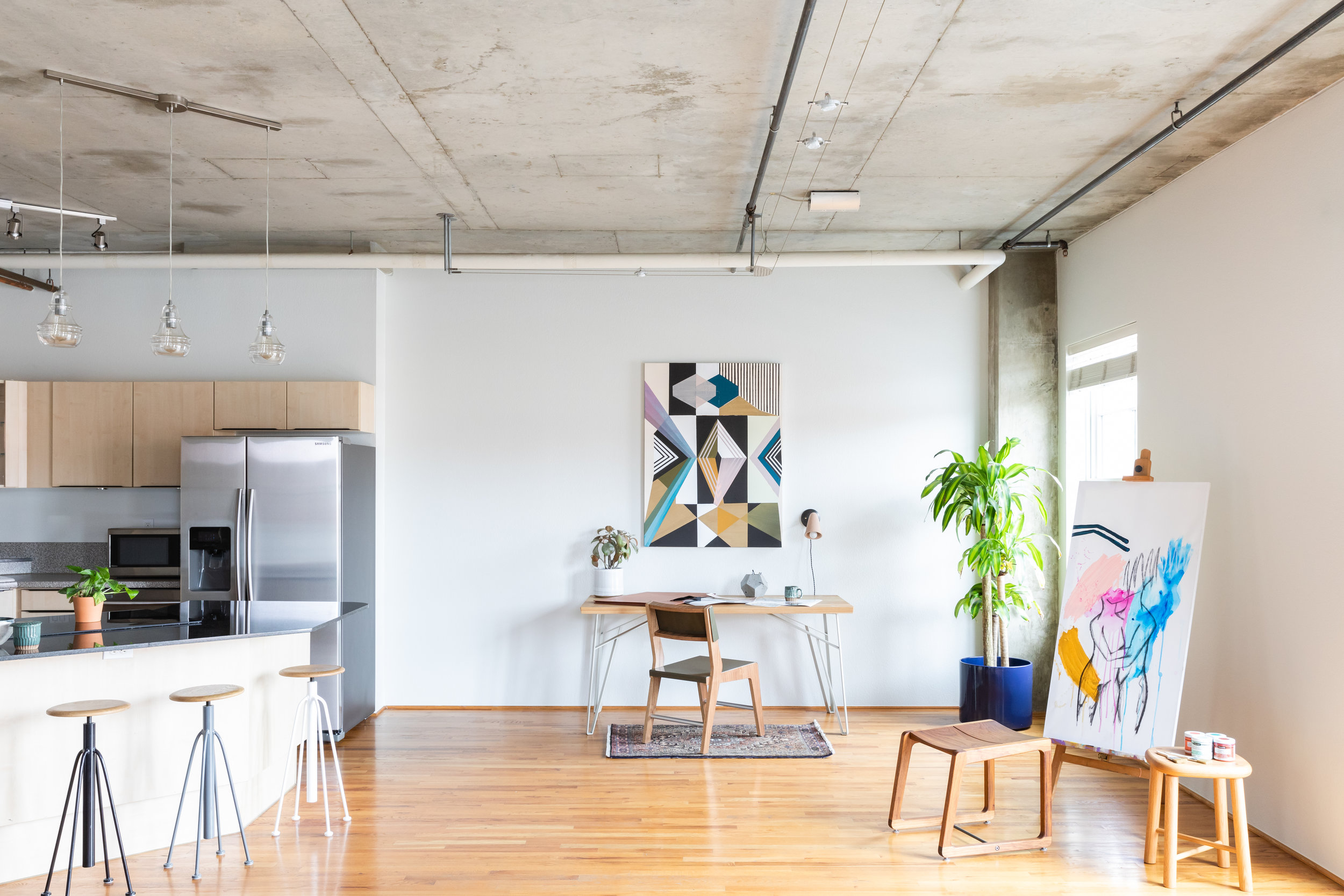 1499 Blake St. - Inspired living in the iconic Palace Lofts. Listed by Stan Kniss & Kaitlin Harvey, Slate.For sale at $550,000