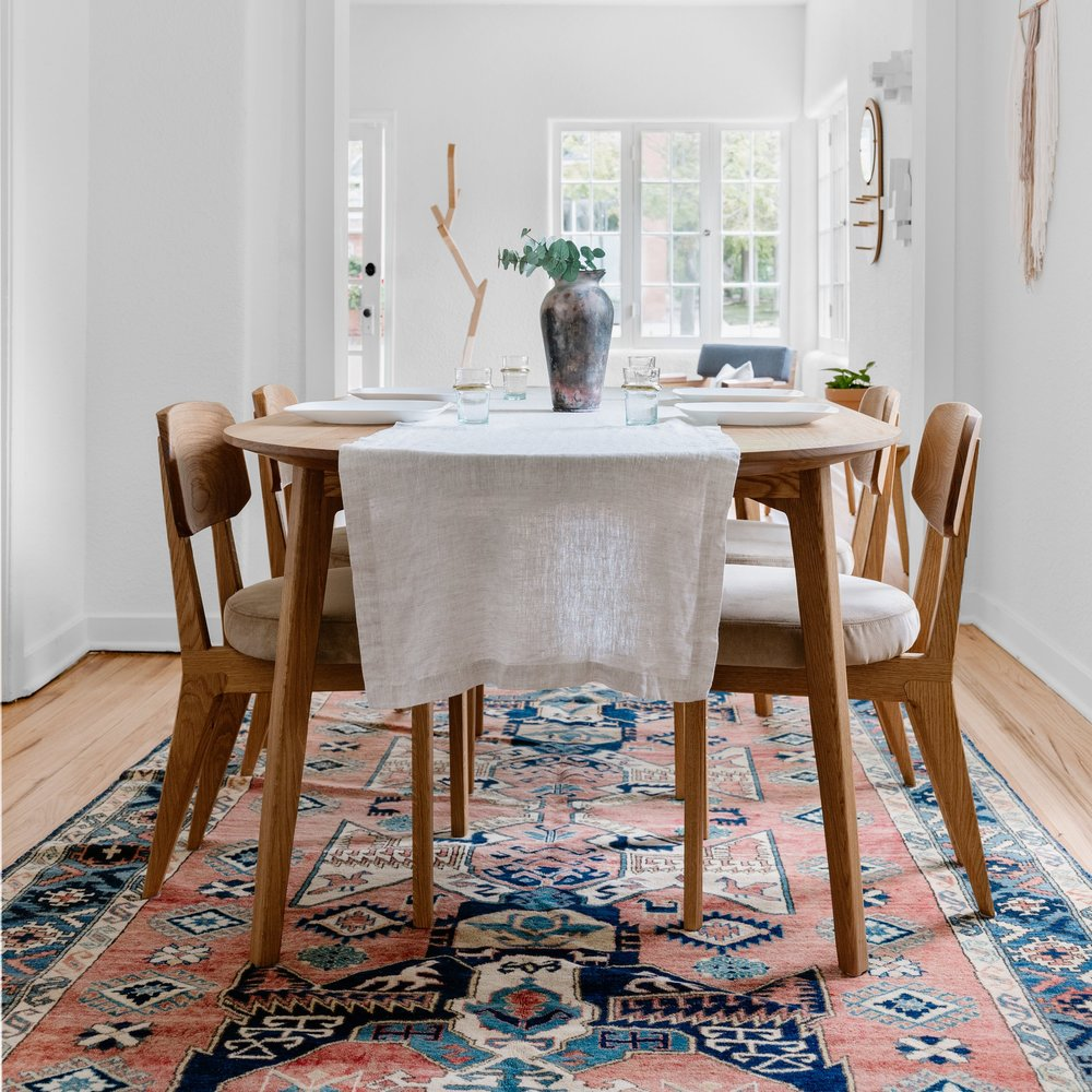 Dining Room Area Rug — Guest House