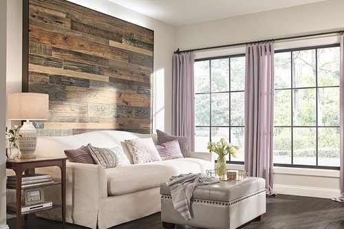 FLOORING ON WALLS -