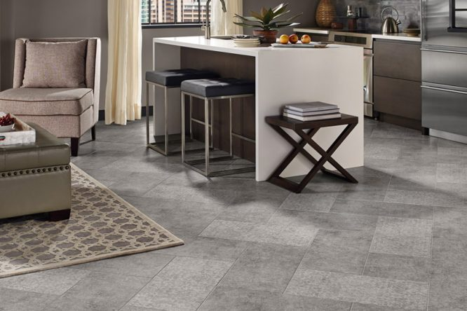 COMMERCIAL VINYL - COMPOSITION TILE