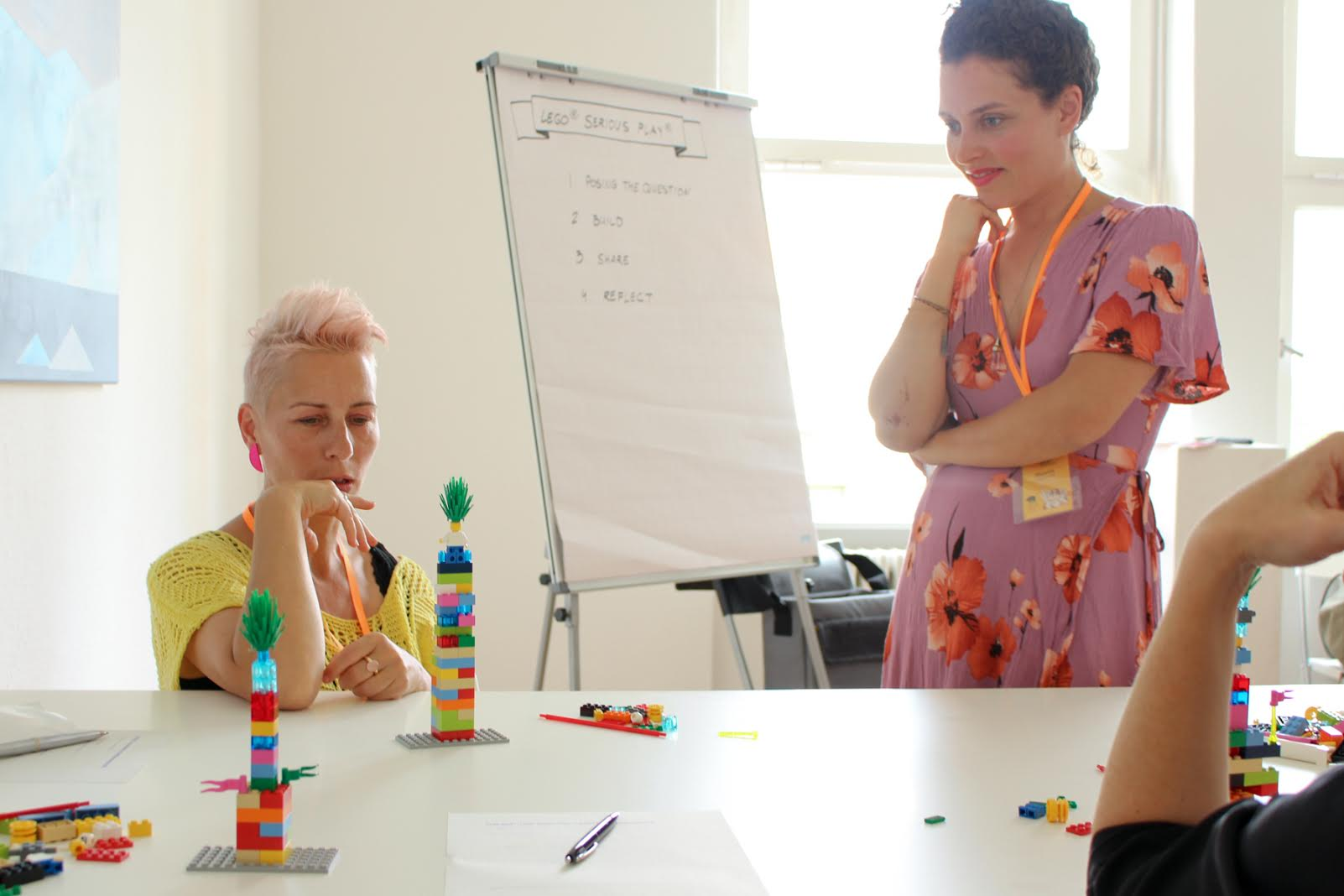 Topic Appreciation at work - Lego® Serious Play® Teaser at Berlin Kreativkonferenz 2018 / Photo:  Berlin Kreativ Kollektiv