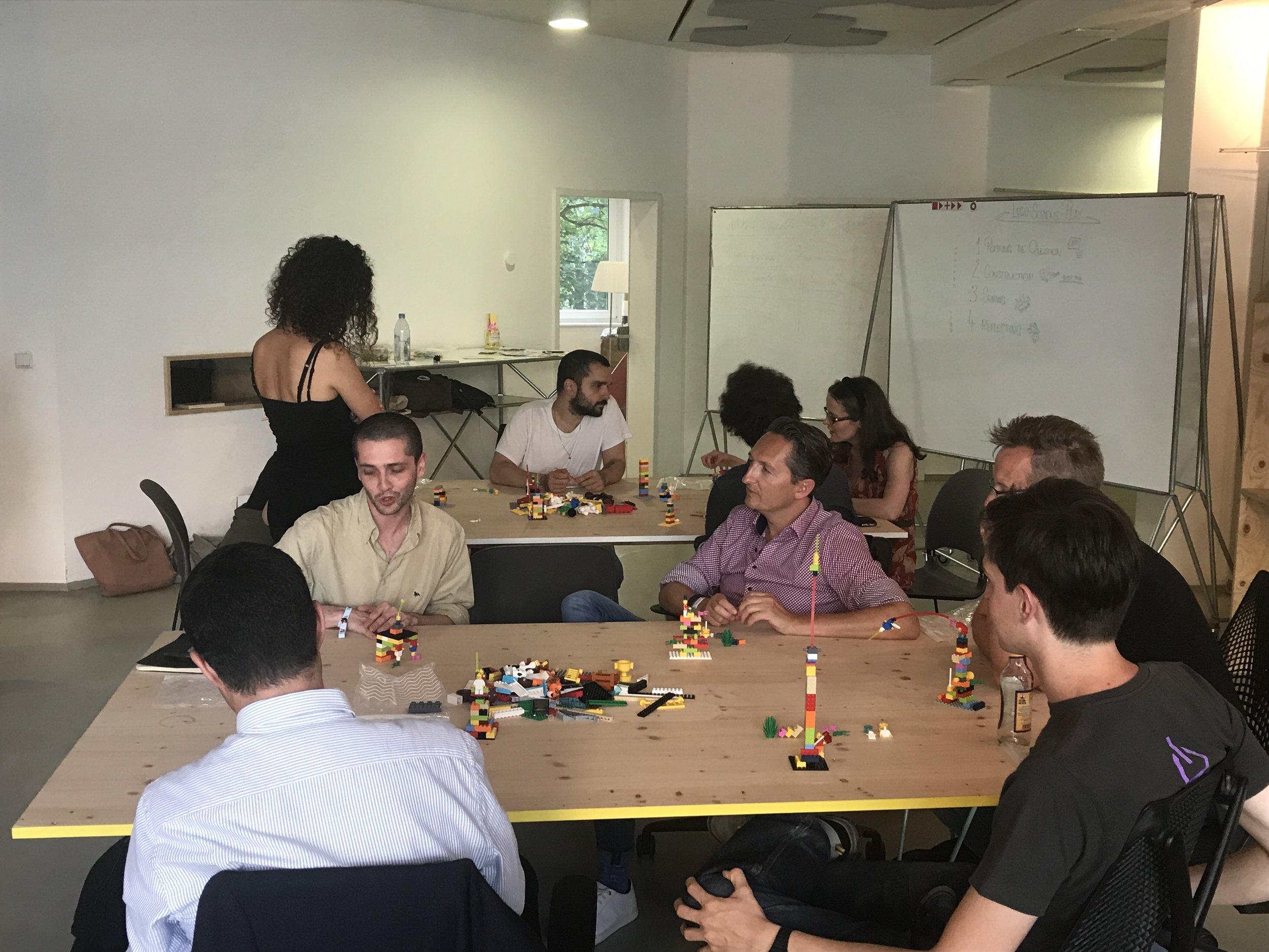 LSP Workshop at  Imapct Hub Berlin .