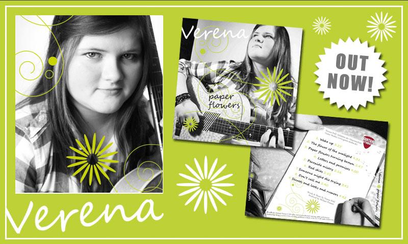 CD Produktion meiner Schülerin Verena