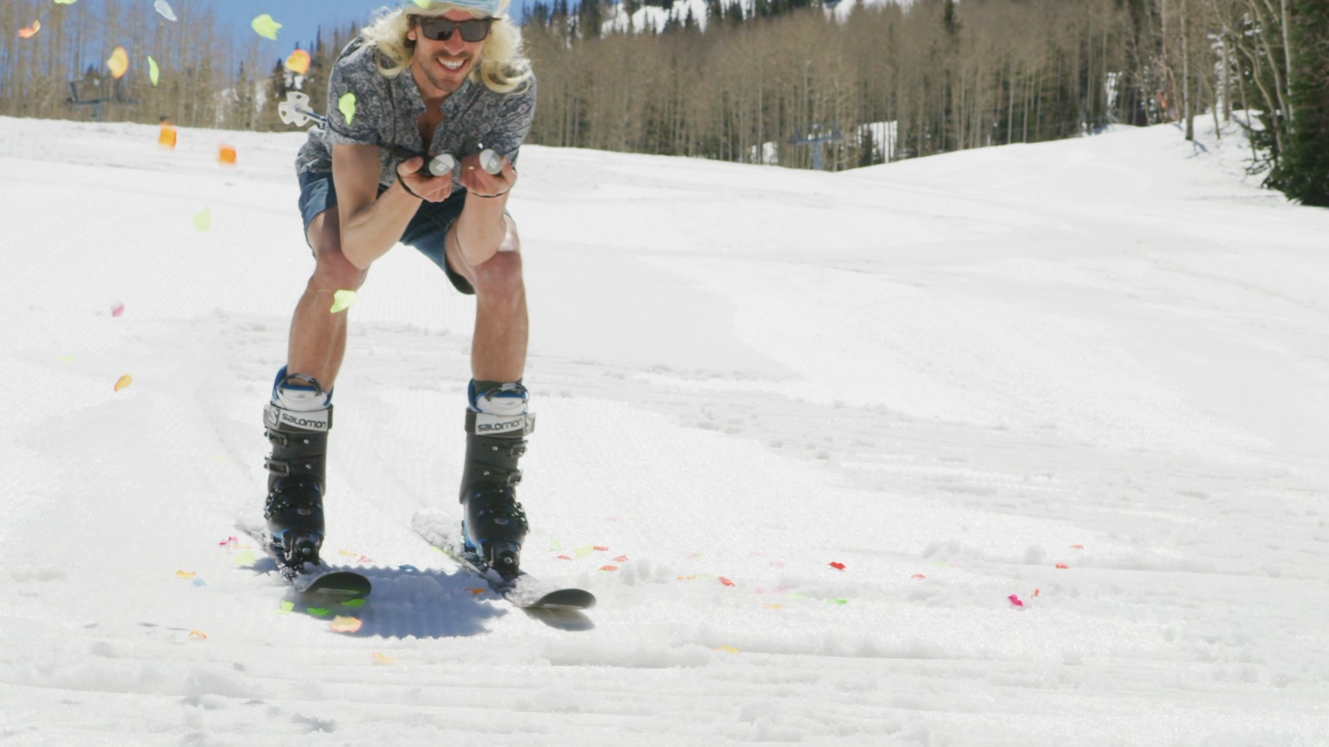 Plant-based wax makes skiers smile!