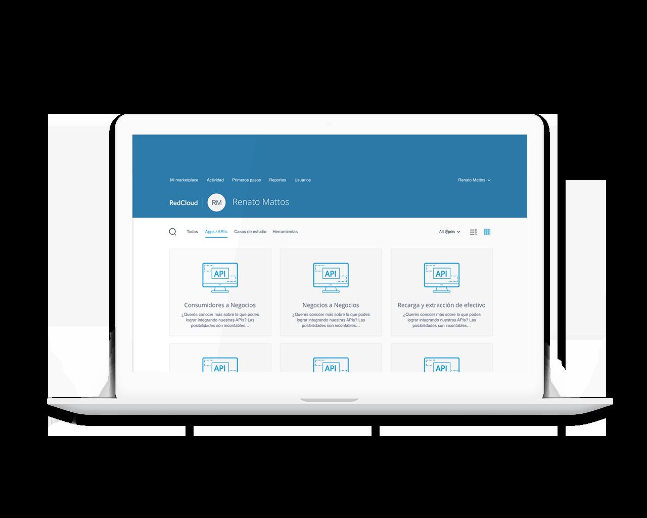 Módulo de Integración Inteligente - Tecnología actualizable a través de integraciones de API abiertas y seguras.Integración rápida, constante y rentable con terceros.