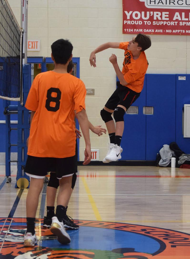 The Second Set - The Tiger's dominance only grew in the second set with long serving runs by Tony Rodz and Will Michels. When the Hawks were able to return the ball, kills by Jake Woo and Caleb Hunt won the point for the Tigers. The final point of the game was an ace by Aidan Hilger. The Tigers won the set 25-8. South Pas played another game against Sierra Madre's other team. They won that game also with a score of 25-12 in both sets. These wins kept the Tiger's winning streak alive and their record is now 3-0.