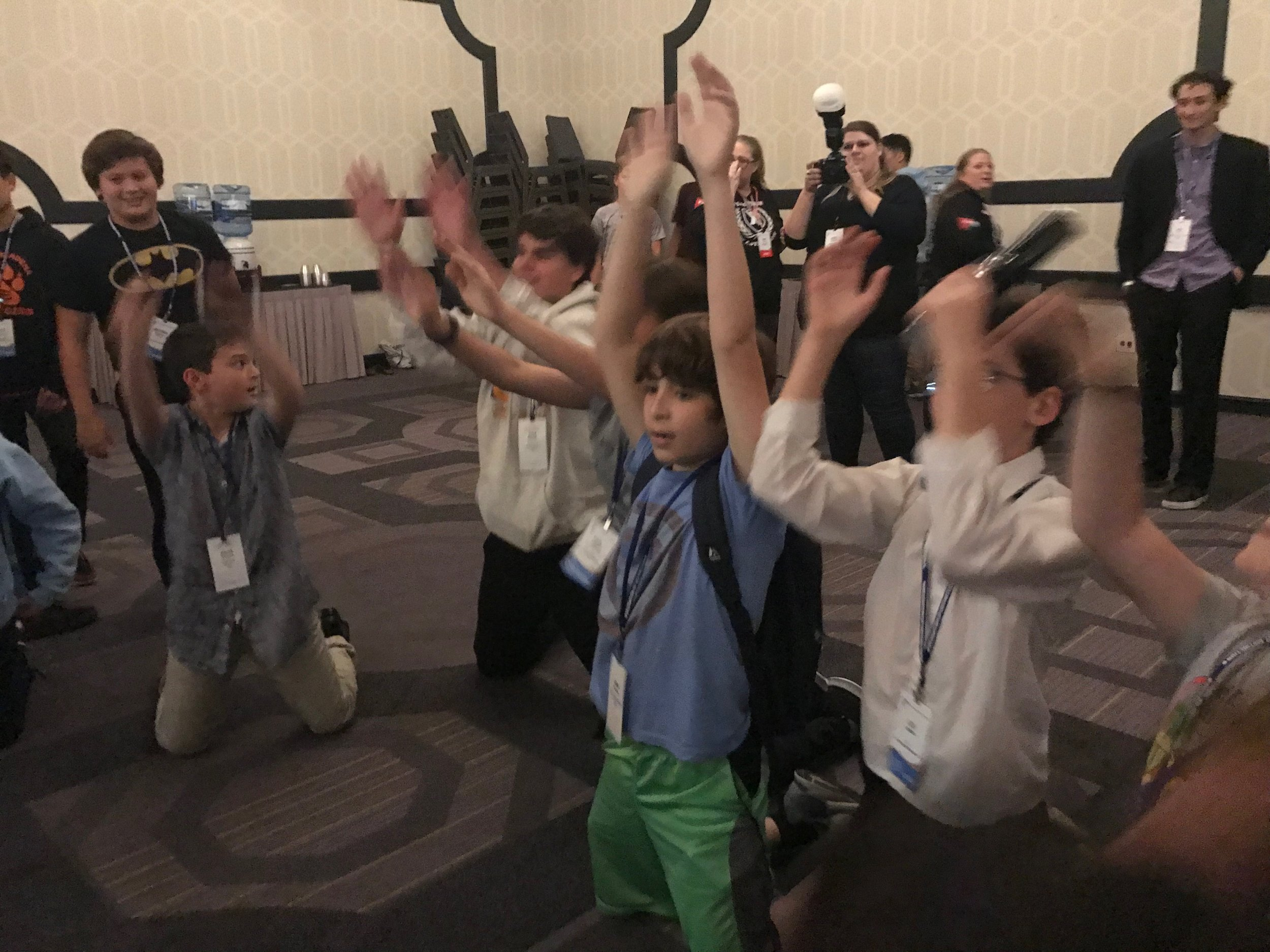 MUN Summit Conference -               story and photos by Ava Feldman