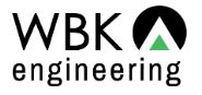 - WBK Engineering, LLC, (WBK) is a civil engineering, planning and environmental resources consulting firm dedicated to providing customer centered professional engineering services to clients throughout the Midwest with our Northern Illinois offices in Aurora and St. Charles and our Michigan Office in Battle Creek.Click HERE for website. Phone: 630.443.7755
