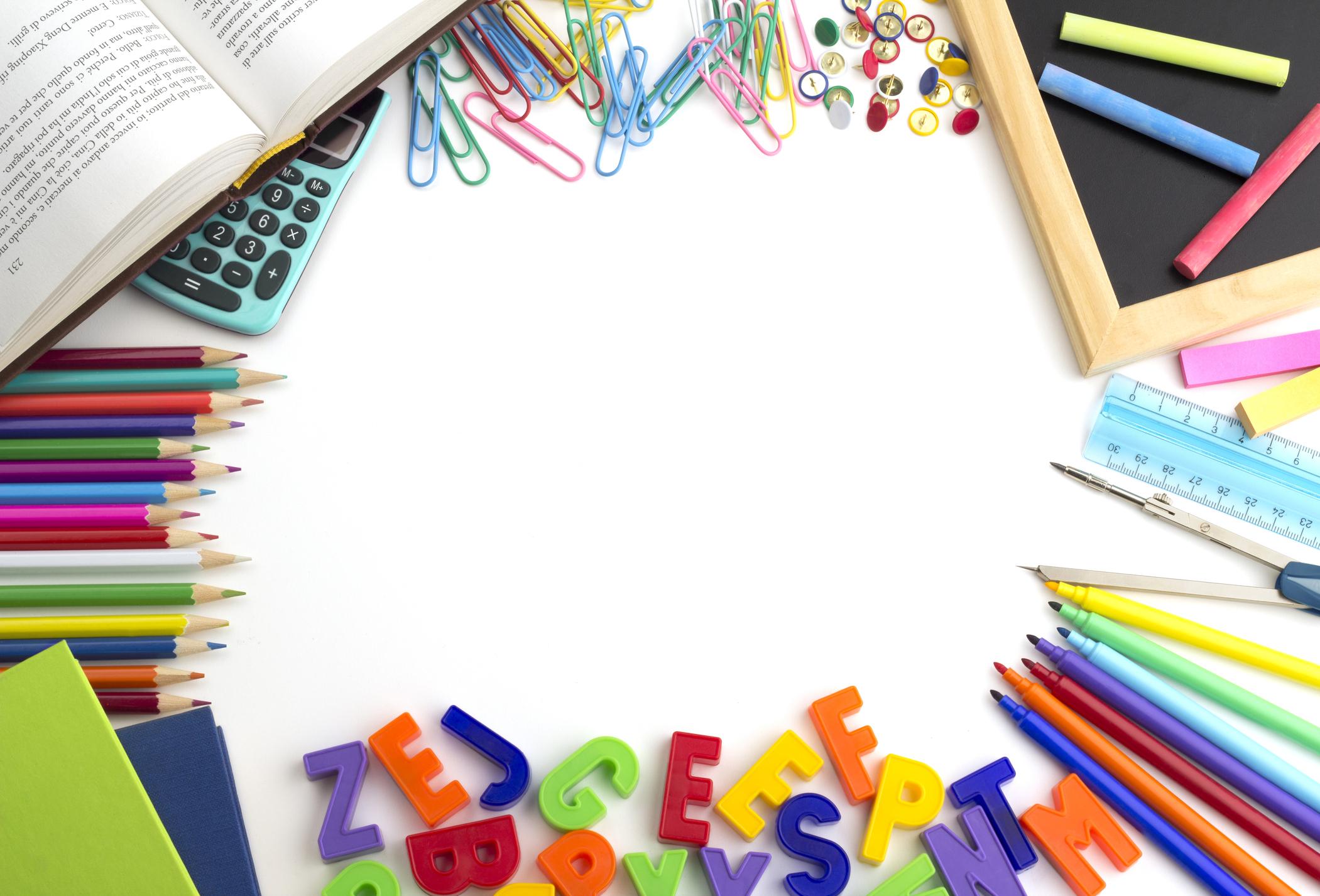 LISTA DE VERIFICACIÓN DE SUMINISTROS 2018-2019  - Todo lo que necesitas para un fantástico año escolar :)