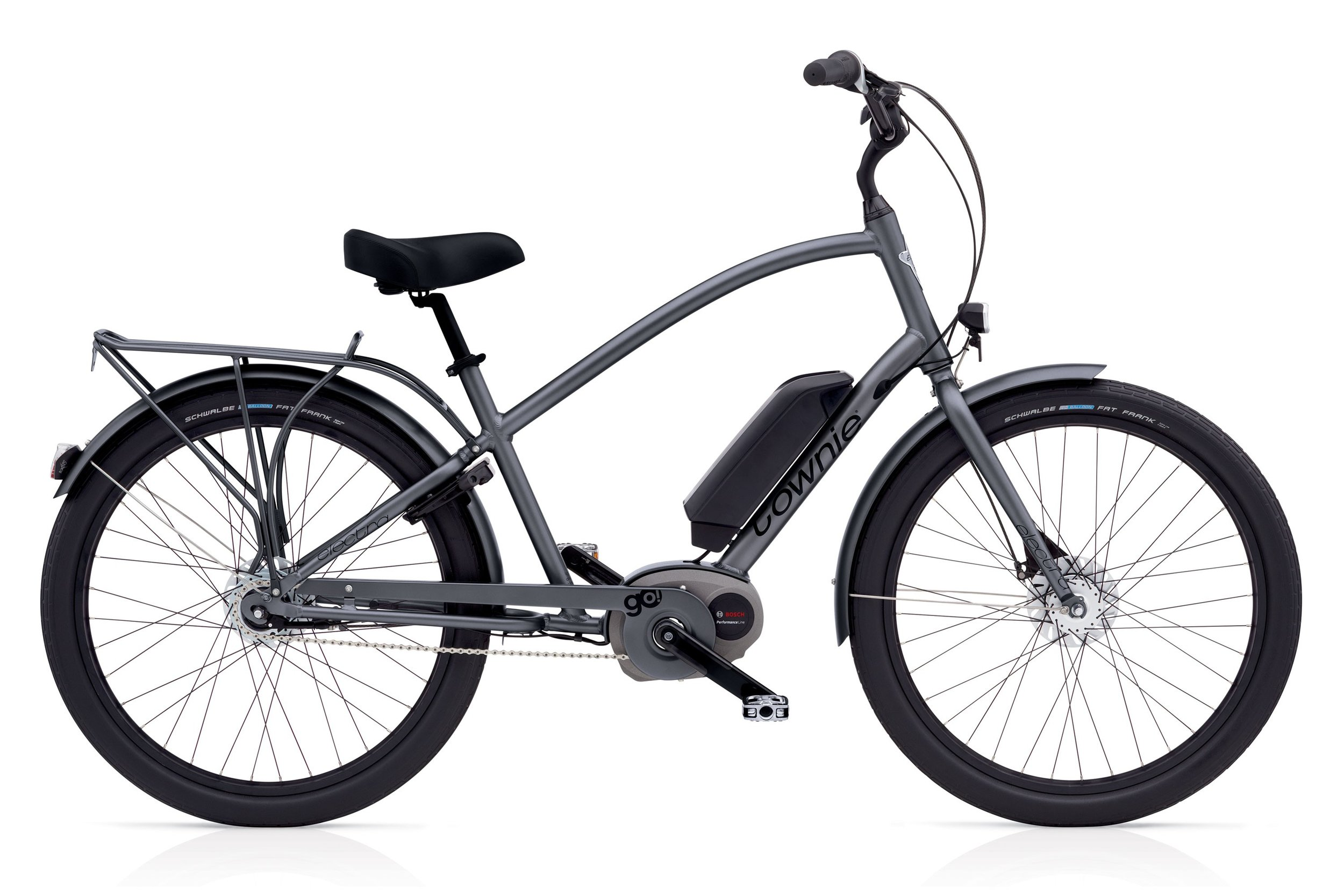 Meet the Townie! - Wait, you've never ridden an e-bike? You don't know what you're missing, new friend. Experience Ojai in a brand new way, and at your very own pace. Take it slow, or glide along at speeds up to 20mph. The choice is yours!Learn more ➝