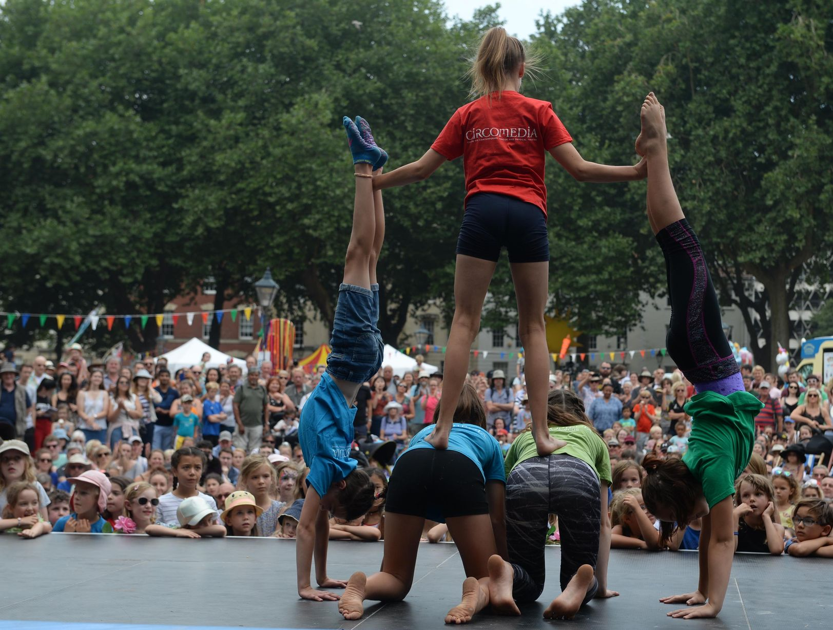 Circomedia Youth Circus Showcase, Cirque Bijou, Circus Playground, photo Bristol Evening Post.jpg