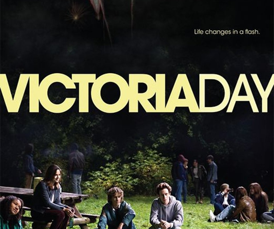 Victoria Day  Feature Directed by: David Bezmozgis  Set in 1988, the plot centres on 16-year-old Ben Spektor (Mark Rendall) as he comes to grips with a number of life-altering events leading up to the May long weekend. The decision to spot the school bully five bucks for drugs at a Bob Dylan concert winds up having bigger consequences than Ben ever could've foreseen, and the resulting guilt weighs heavily on him...    READ MORE     Buy/Rent   it    here    .  Purchase soundtrack on   iTunes  ,